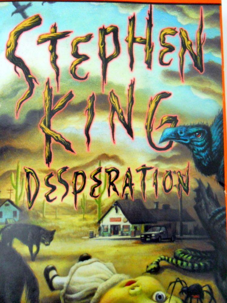 Stephen King Desperation Audio Cassette Book Read by Kathy Bates 6