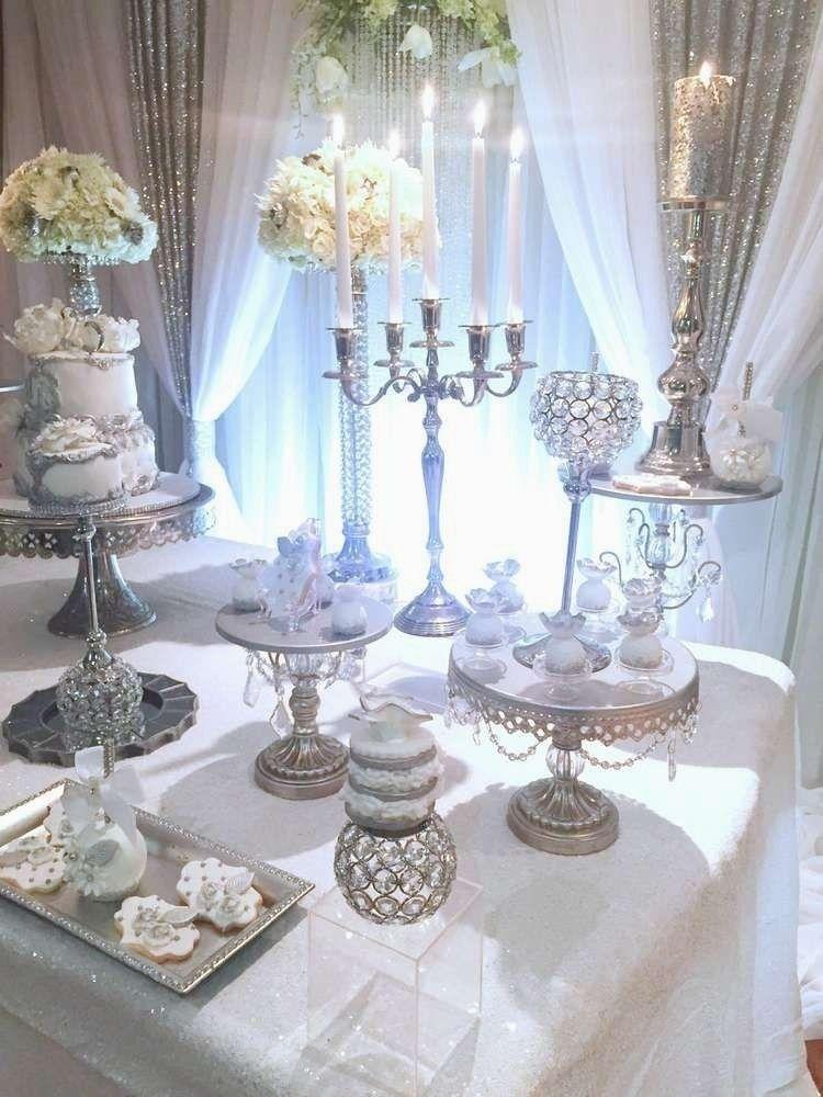 17 Modern Silver Wedding Anniversary Decoration Ideas