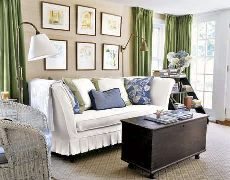 Modern Furniture: Cottage Living Room Decorating Ideas 2012