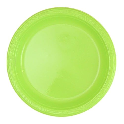 Hanna K Plastic Plates Round 9 inch Lime Green 50 Ct  sc 1 st  Pinterest & Hanna K Plastic Plates Round 9 inch Lime Green 50 Ct | Plastic ...