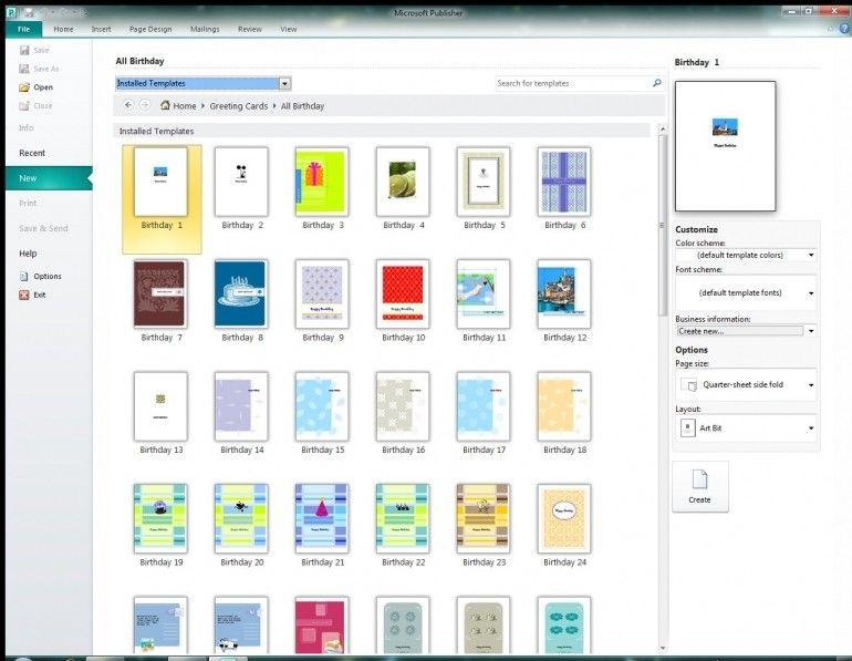 Microsoft Invitation Templates Birthday Card Template Greeting Card Template Free Greeting Card Templates