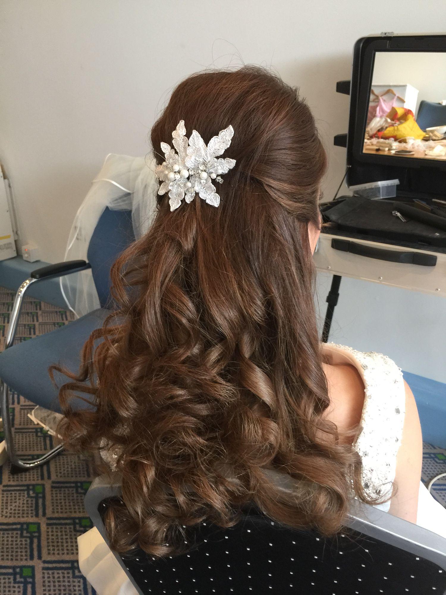 Pin by Annette Bradford on Long hair styles for weddings Pinterest