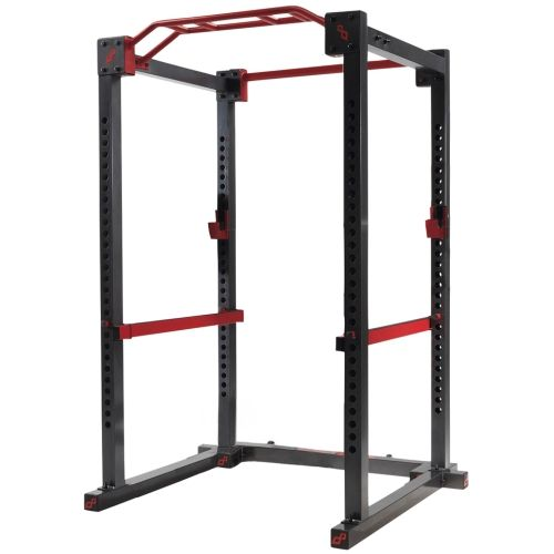 My squat rack in home gym up the iron pinterest