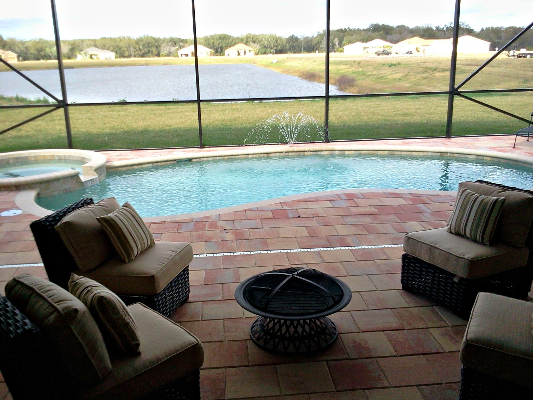 Medallion Gamble Creek Parrish FL Pool Pool amp Lanai