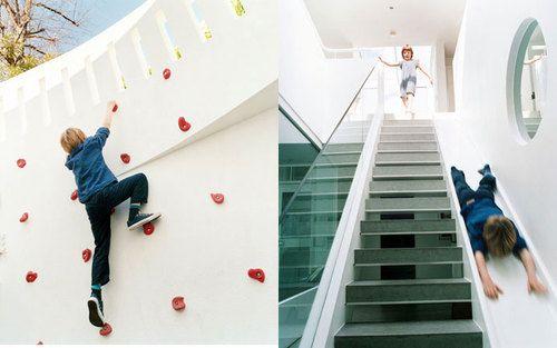Best Indoor Climb Wall Stair Slide Climbing Wall Home 400 x 300
