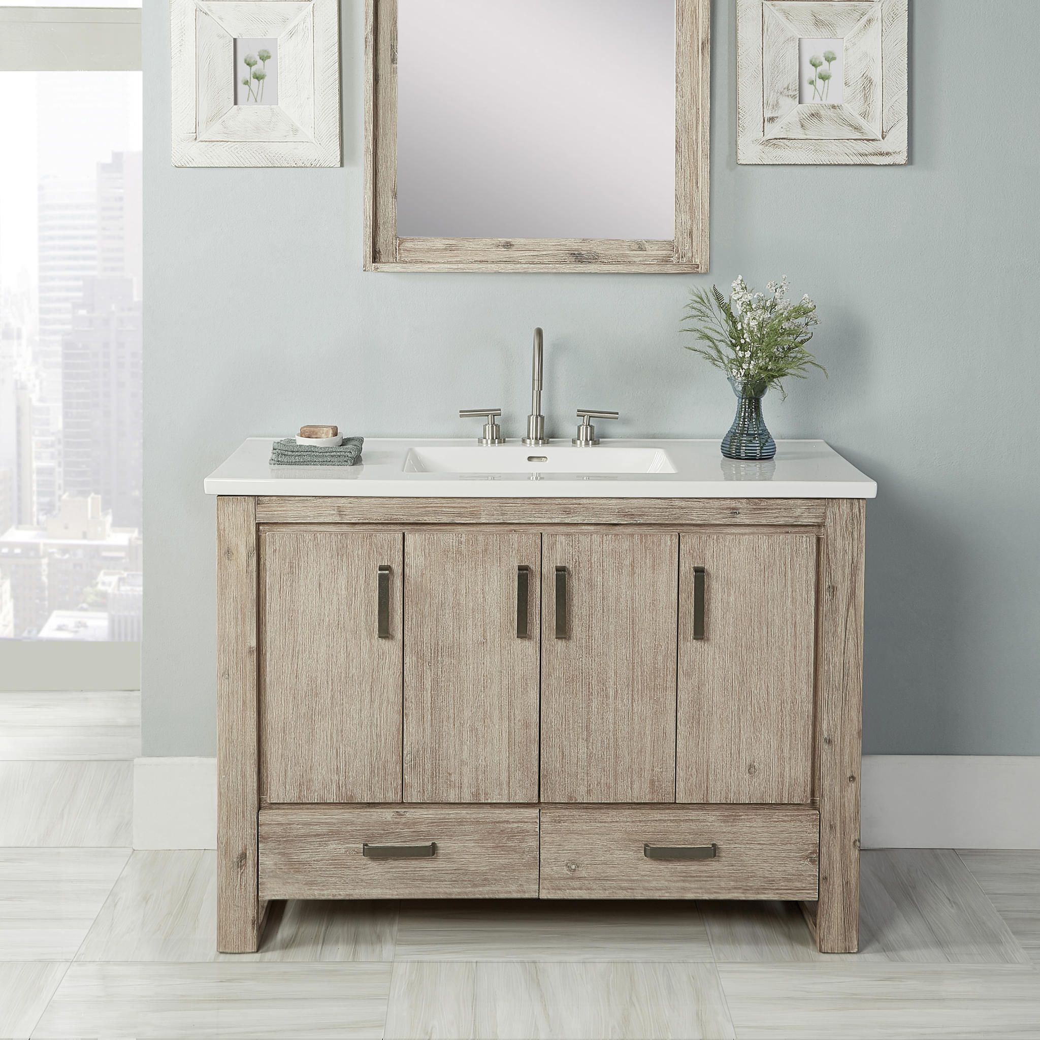 Find Shop For And Buy Fairmont Designs 1530 V48 Bathroom Vanity At Qualitybath Com For 1 275 00 With Free Shipping Bathroom Vanity Vanity 48 Vanity