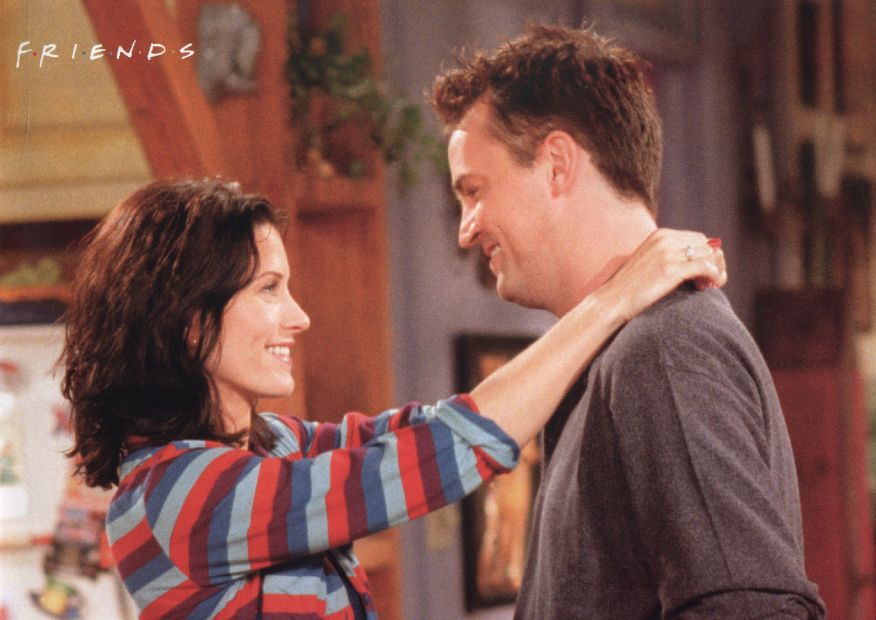 chandler and monica - Google Search