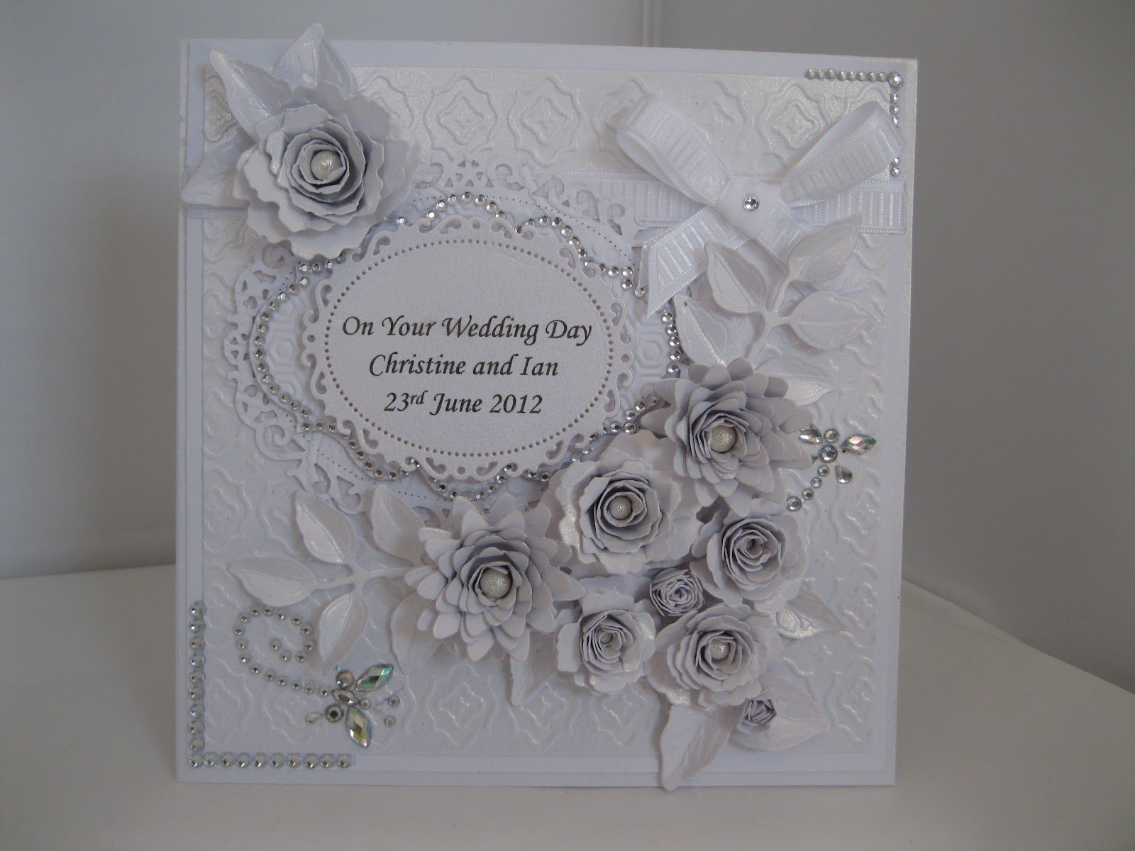 Superb Card Making Ideas Silver Wedding Part - 10: Silver · Pinterest Handmade Cards For Silver Wedding ...