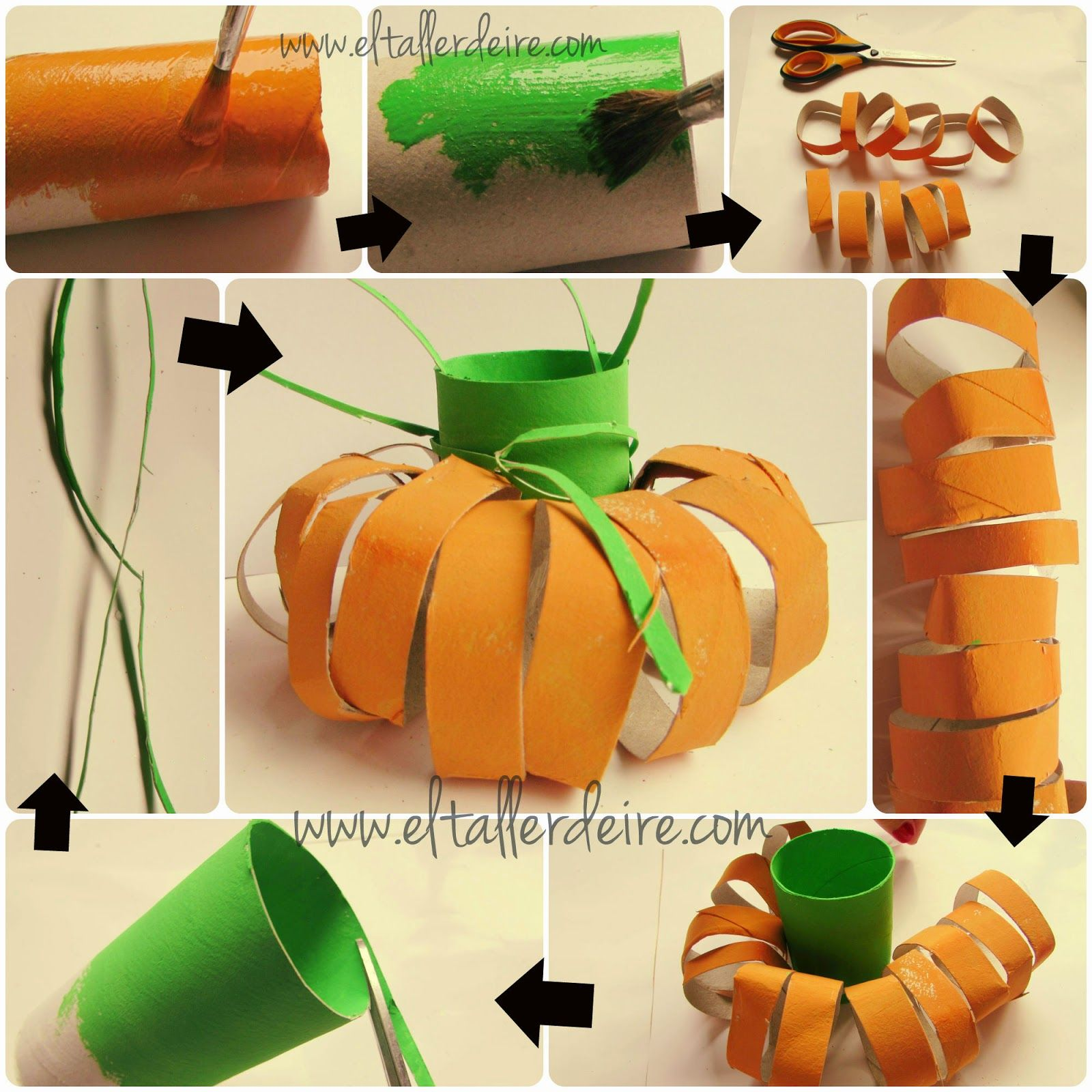 Especial Halloween Calabazas para hacer con niños