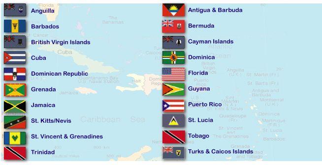 Flags Jpg 654 215 336 Caribbean Pinterest Caribbean