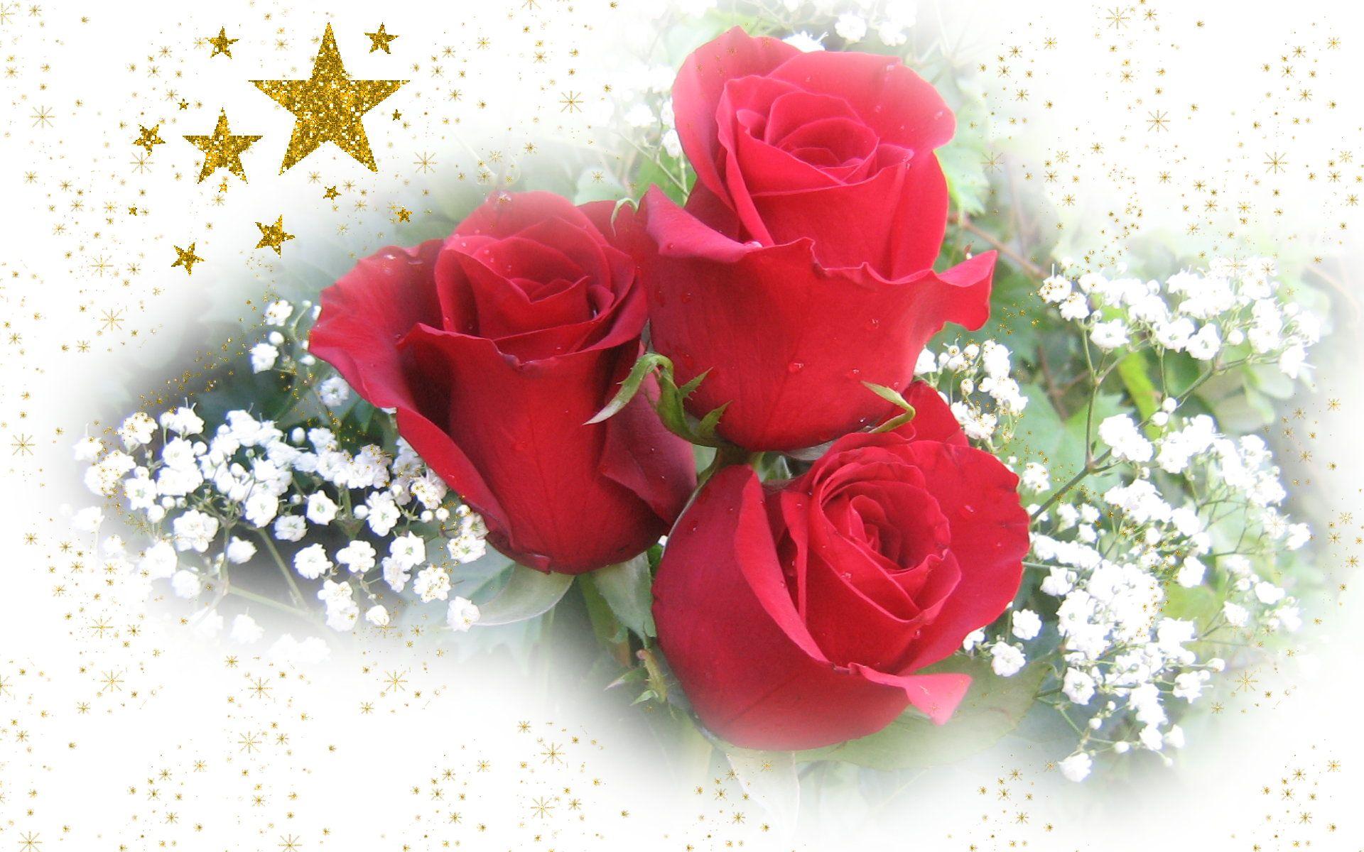 Цветы с любовью открытки