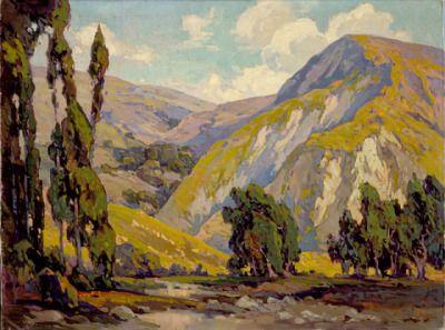 Landscape - John Cotton (Canada, Ontario, Toronto, active United States, 1868-1931) United States, circa 1920