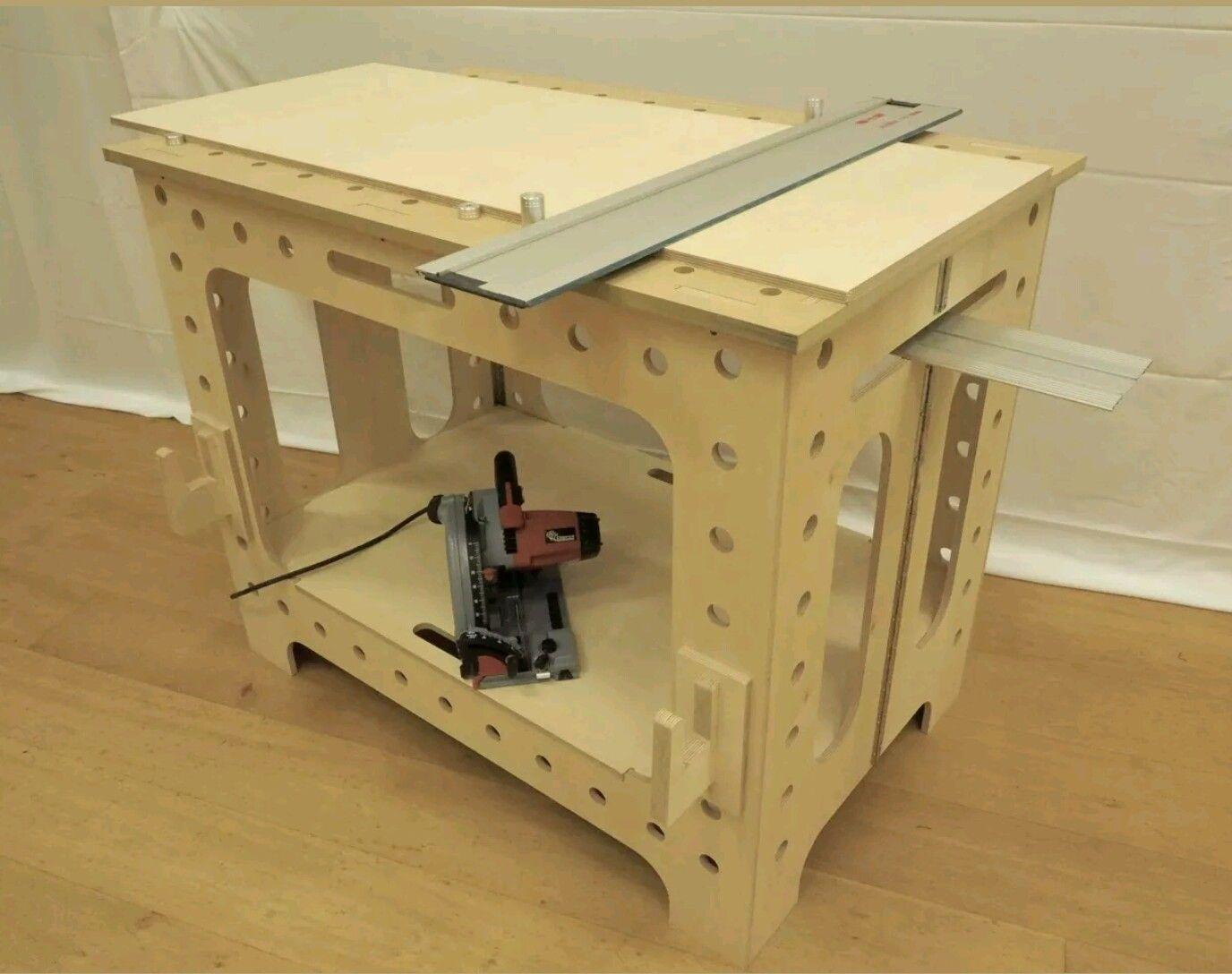 Mesa multiuso para carpintero woodworking tips for Planos de carpinteria