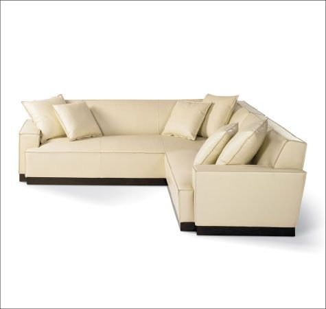 Calvin Klein Home Upholstered Furniture Sofa Couch L Shaped
