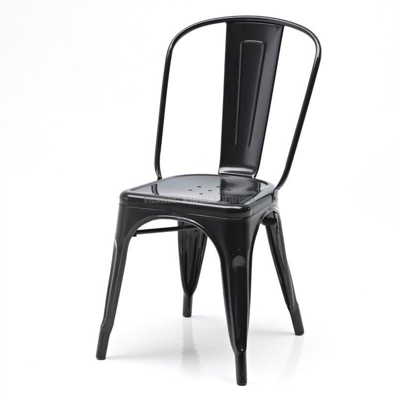 Retro Café Side Chair Inspired By Xavier Pauchard
