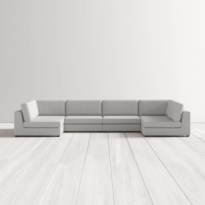 Kendrick 148 Symmetrical Modular Sectional Allmodern In 2020 Sectional Modern Sofa Sectional Modern Sectional