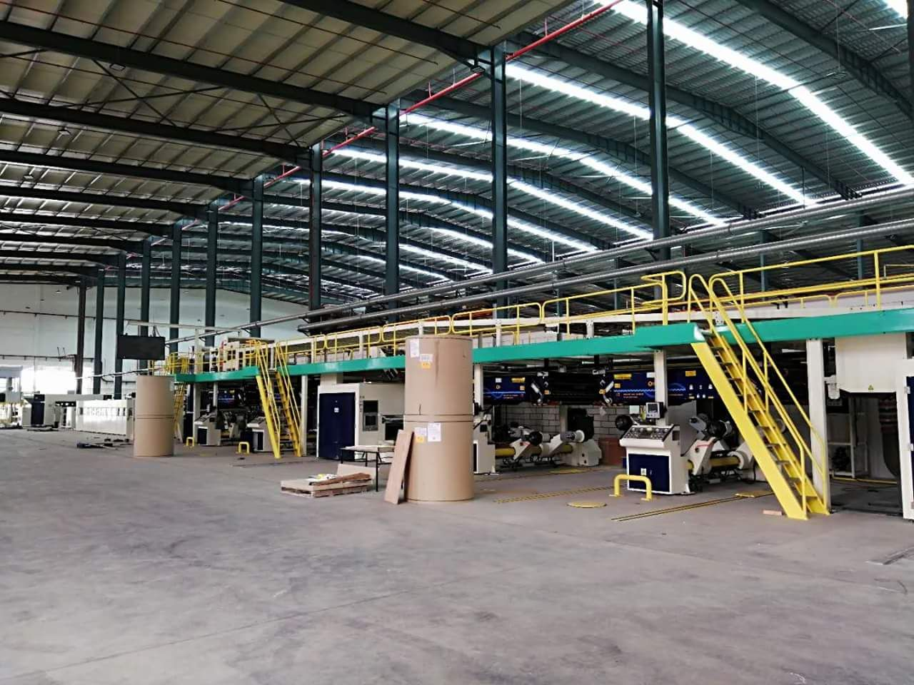 3layer, 5layer, 7layer Paper Corrugation West River Paper