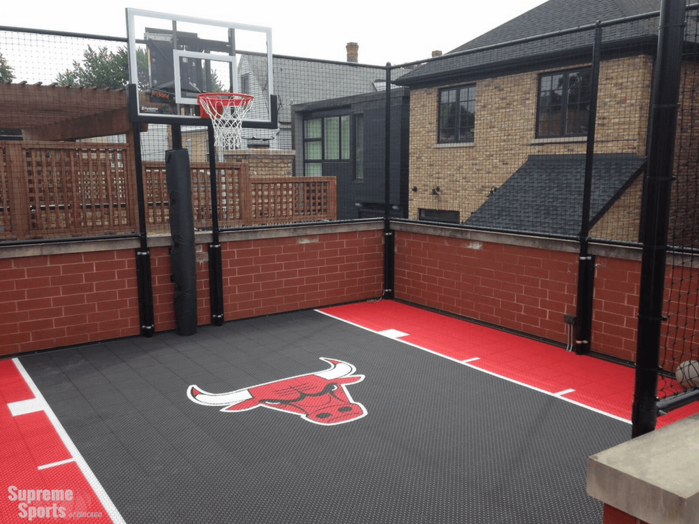 5 Ways To Customize Your Rooftop Basketball Court In Chicago Il Outdoor Basketball Court Basketball Court Rooftop