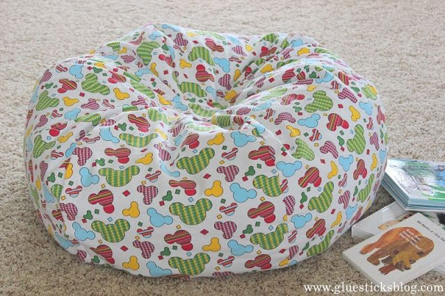 Homemade Bean Bag Chair Pinterest Bean Bag Chair Bean Bags And
