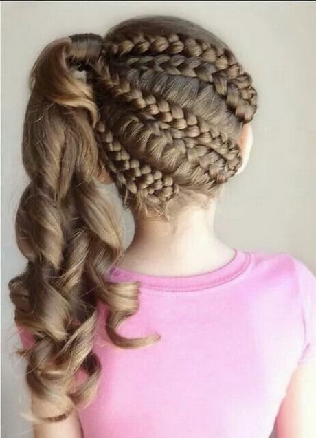 Peinados De Ninas Para Fiestas Paso A Paso Peinados Con Trenzas Peinados Bonitos Peinados Infantiles