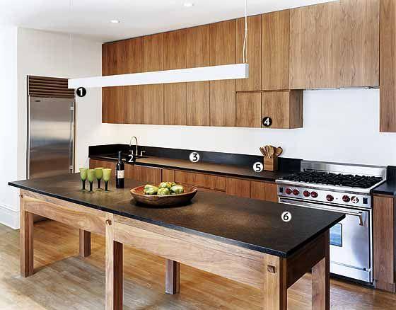 A Wood Clad Urban Kitchen New York Magazine Great Kitchens Nymag Urban Kuche Kuchen Design Kuche