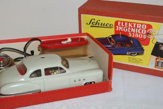 Schuco..Elektro Ingenico 538OU..Rare Toy Car..Made by MemorySaver