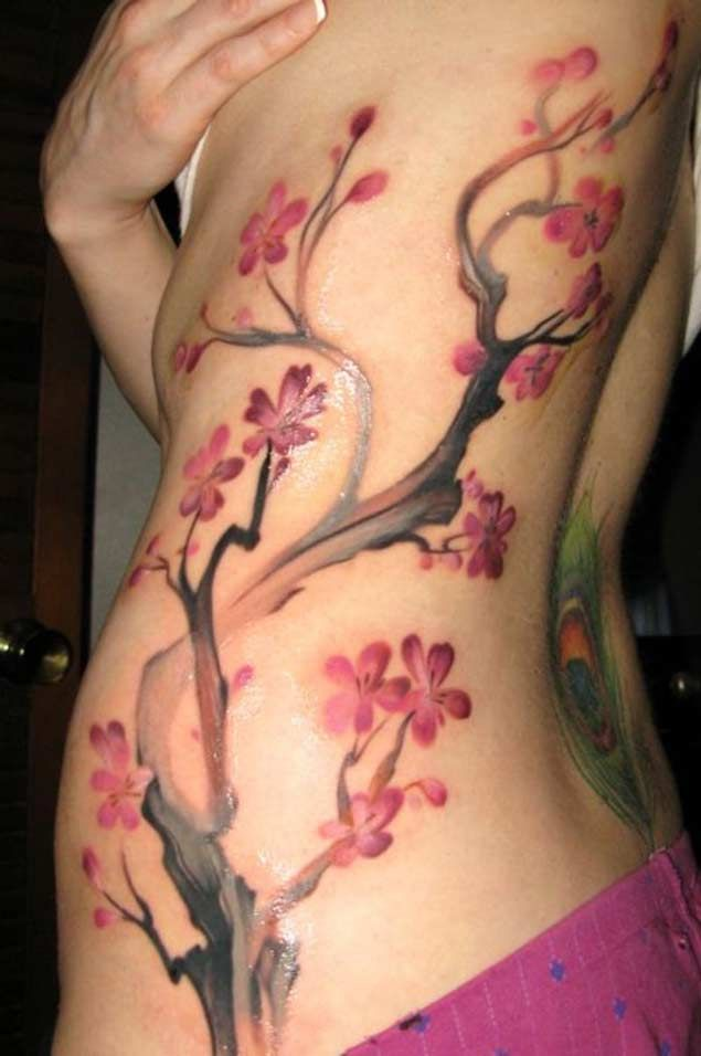 The 50 Best Cherry Blossom Tattoos Ever Inked Pics Pinterest
