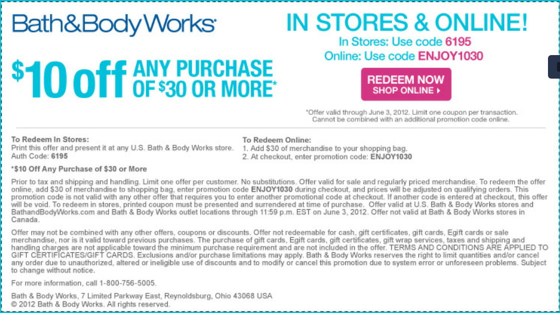 10 Off Purchase At Bath Body Works Coupon Bath And Body Works Bath And Body Body Works