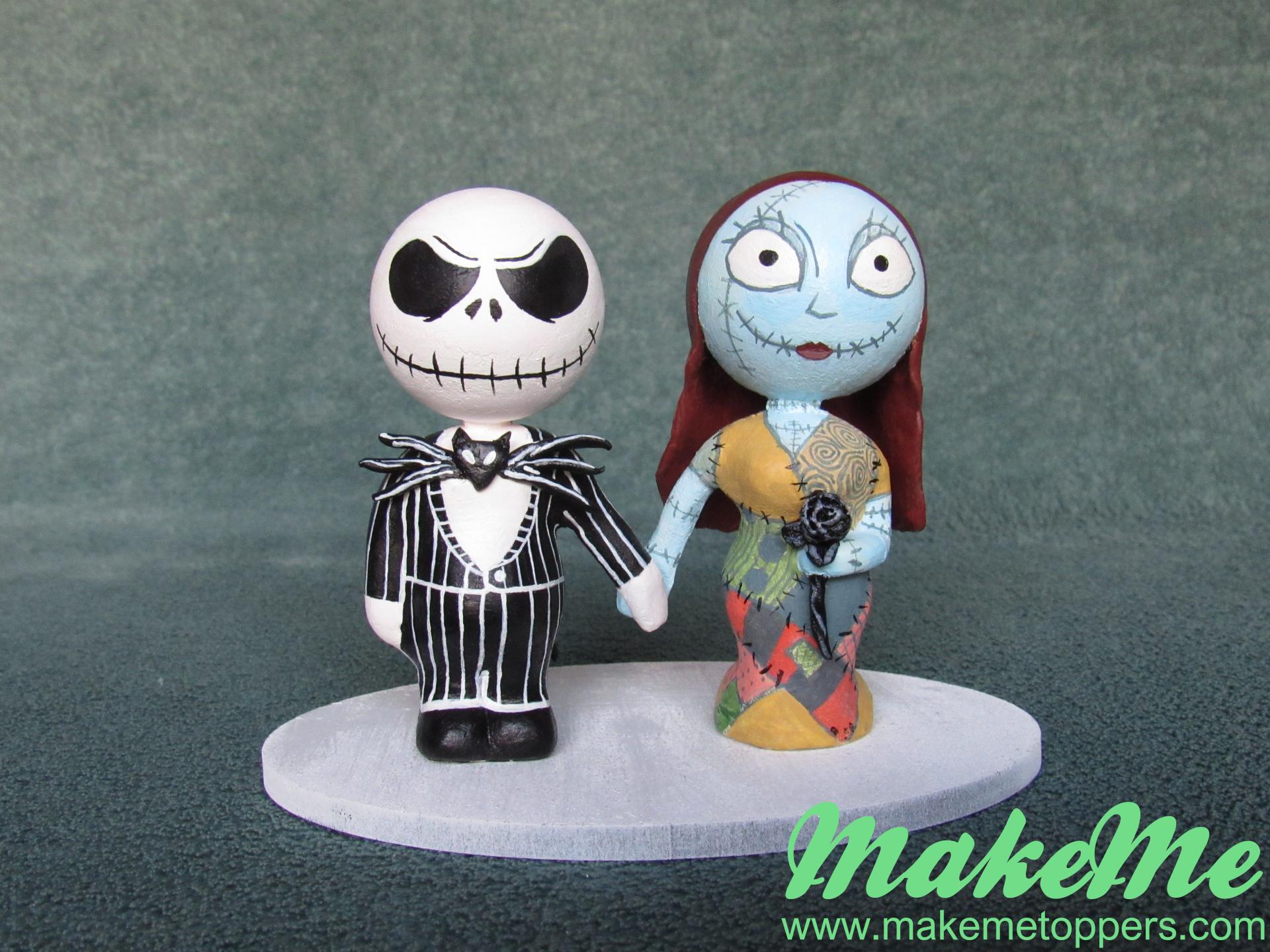 Jack Skellington and Sally Nightmare Before Christmas themed wedding ...