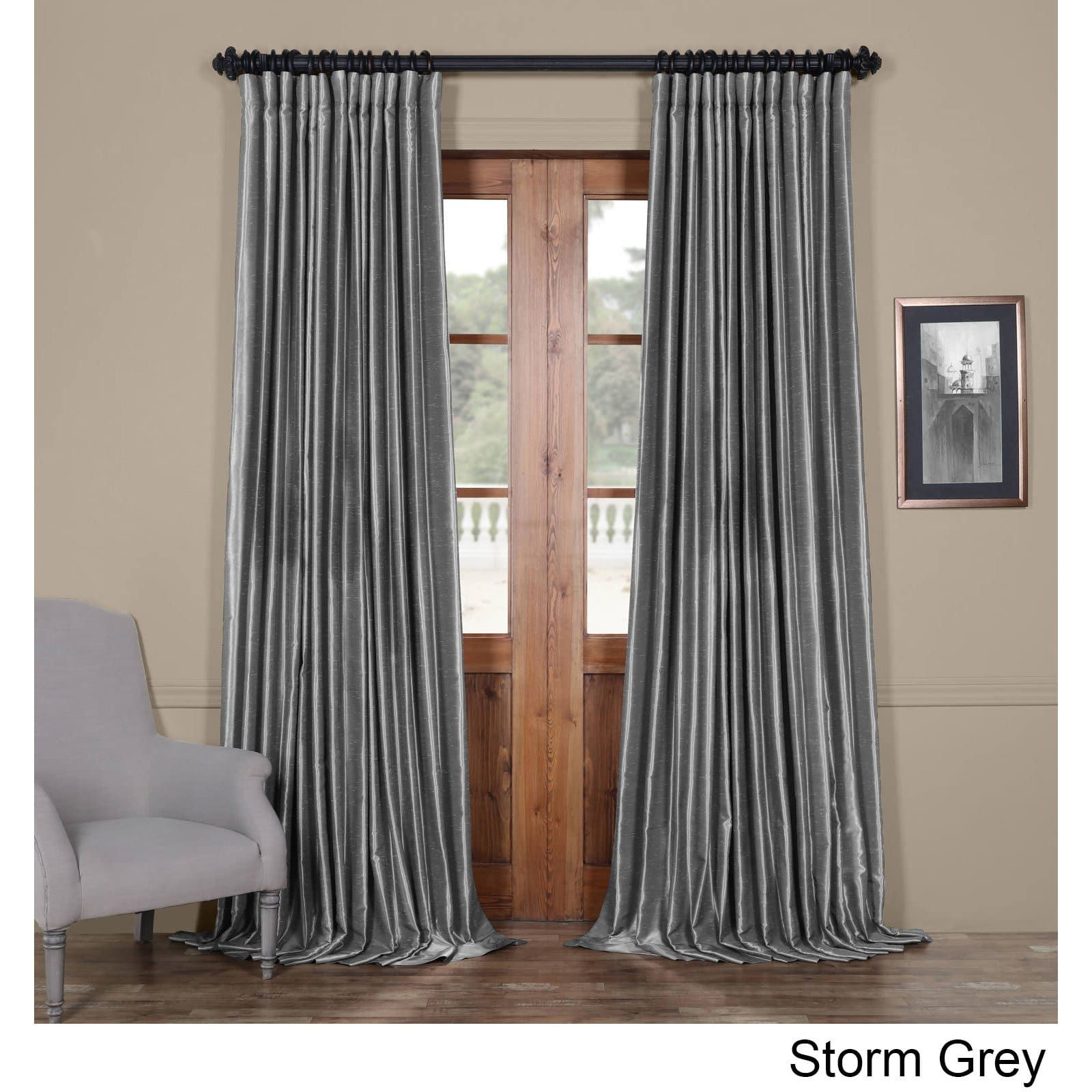 Overstock Com Online Shopping Bedding Furniture Electronics Jewelry Clothing More Half Price Drapes Panel Curtains Faux Silk Curtains