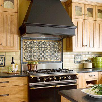 Decorative Tile Backsplash Ideas Gorgeous Tile Backsplash Designs  Kitchens  Pinterest  Stove
