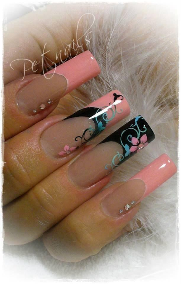 Pin de Toulouse Dunbar en Stiletto Nails | Pinterest | Diseños de ...