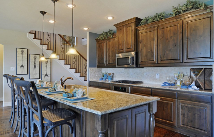 A lovely kitchen from Alamo Ranch Edwards Grant in San Antonio TX