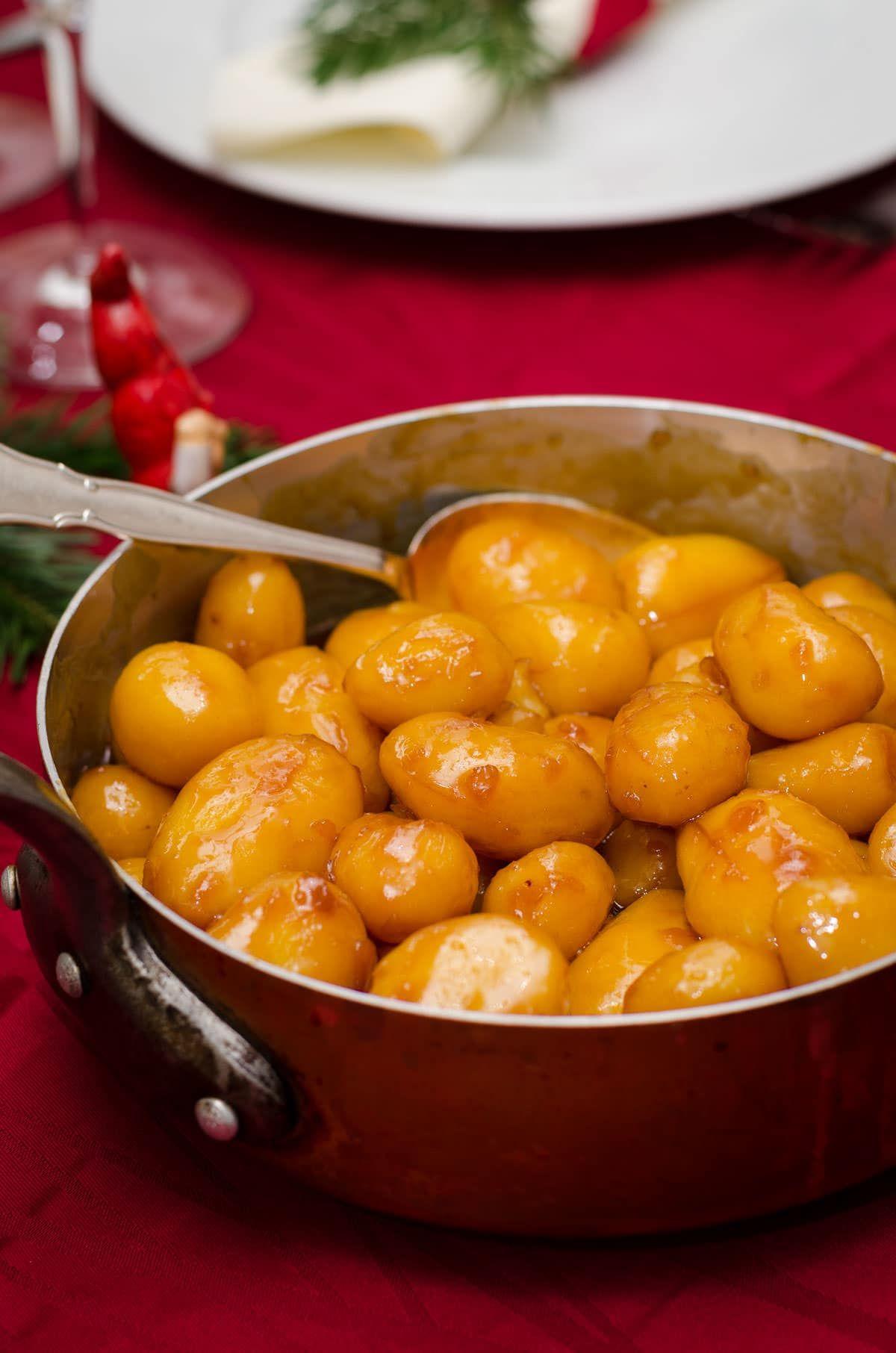 Brunede kartofler - opskrift på perfekte brunede kartofler #brunedekartofler