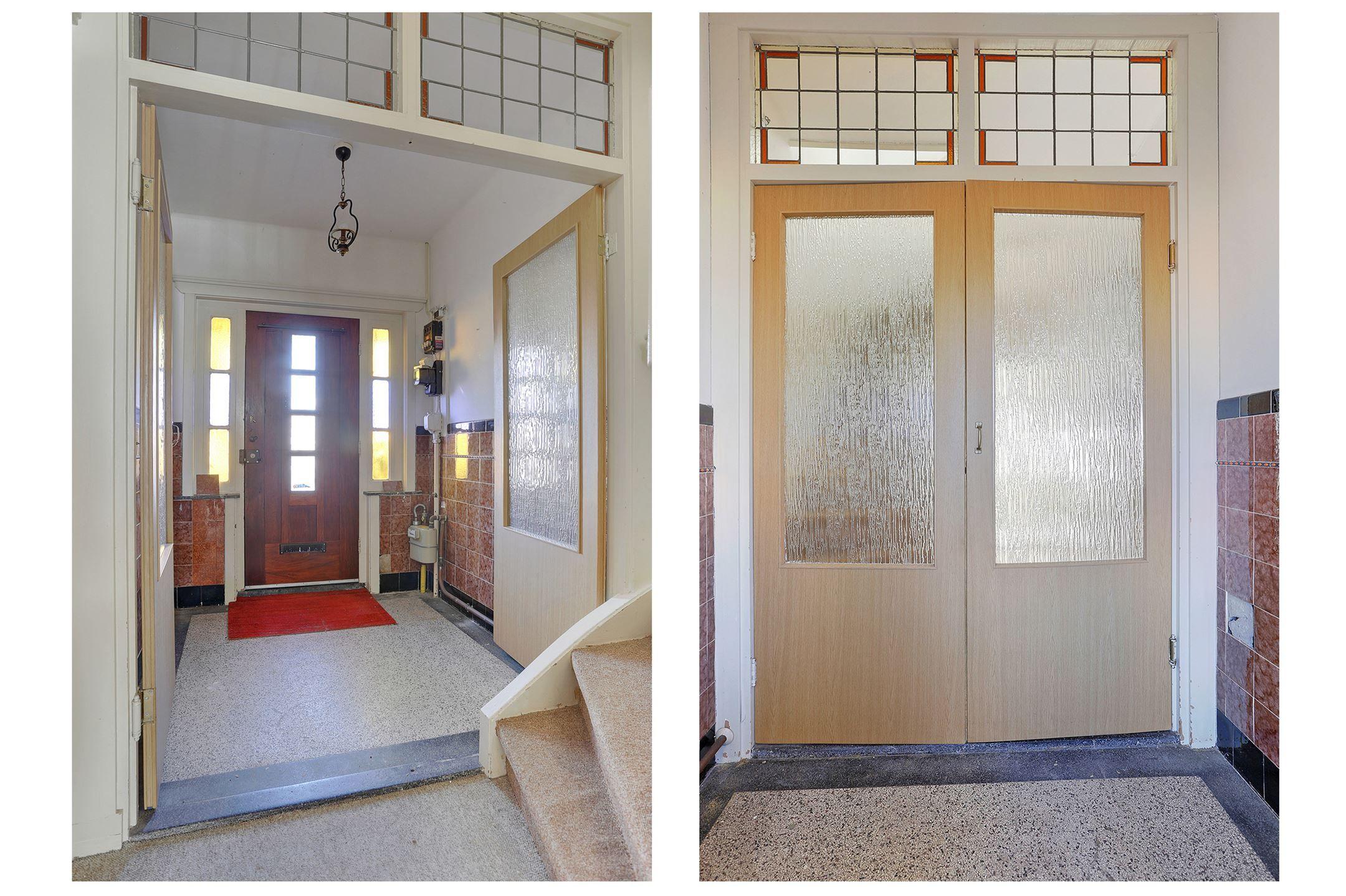 Jaren30woningen Nl Vestibule Met Terrazzo Vloer Glas In