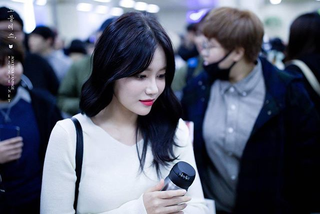 She is Seo Yuna 💗  #Aceofangels #AOA  #에이오에이  #fncent #Yuna #유나