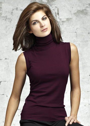 500ae3c8731f3 Enjoy The Versatility Of Wearing Sleeveless Turtleneck - Women Interest