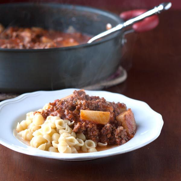 Best Goulash Ever is a perfect goulash with beef, pork, potatoes and tomatoes spiced just right and served over pasta or rice. This meal will fill you up and leave you satisfied.