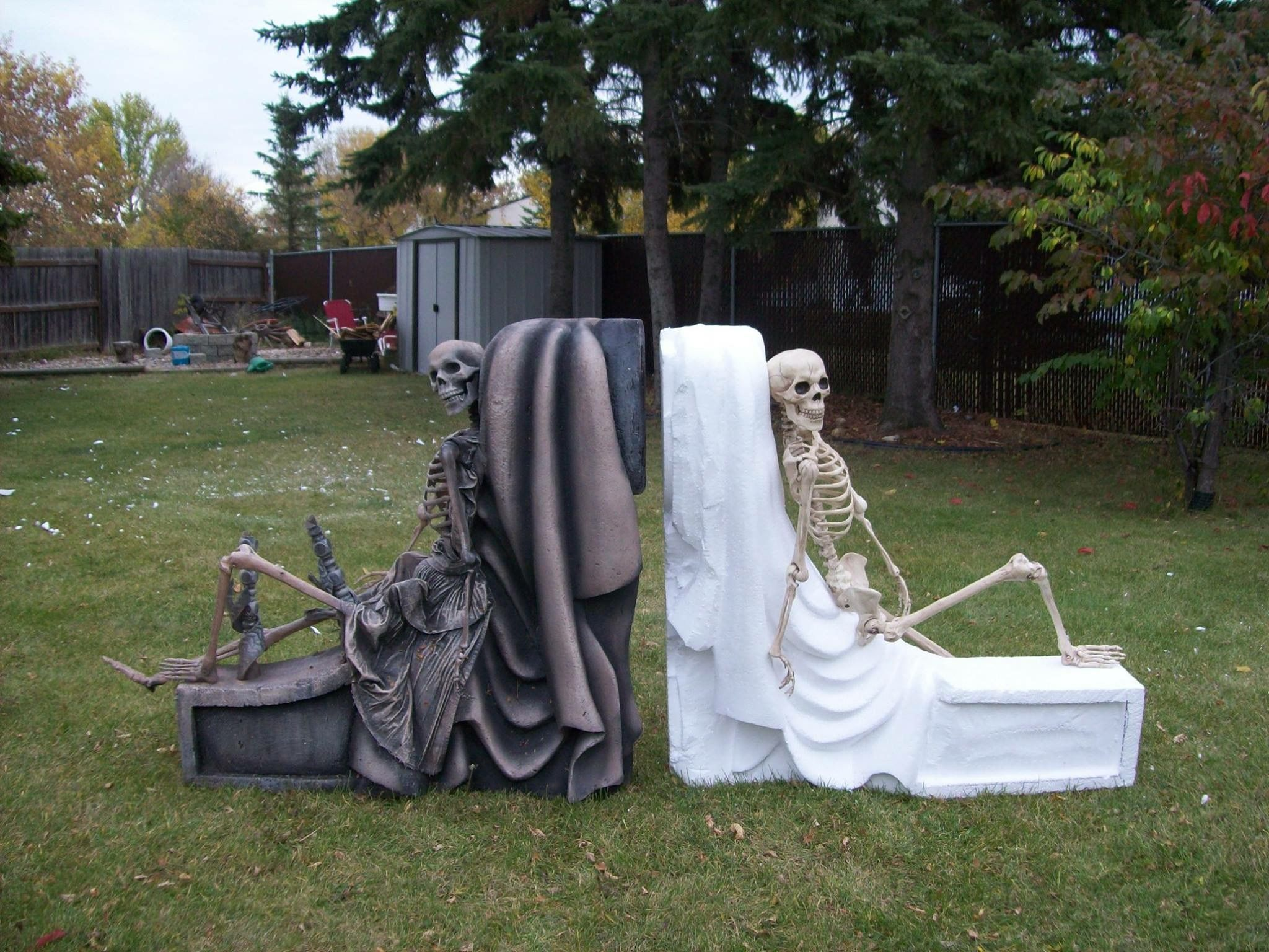 Pin by Malena vallotton on Halloween Pinterest Yard haunt - Halloween Graveyard Decorations