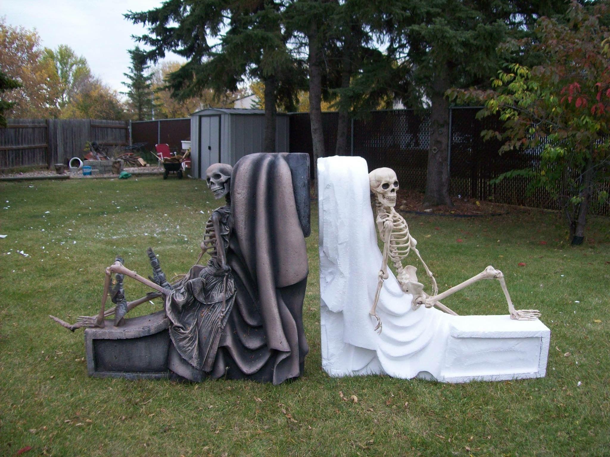Pin by Malena vallotton on Halloween Pinterest Yard haunt - Halloween Graveyard Decorations