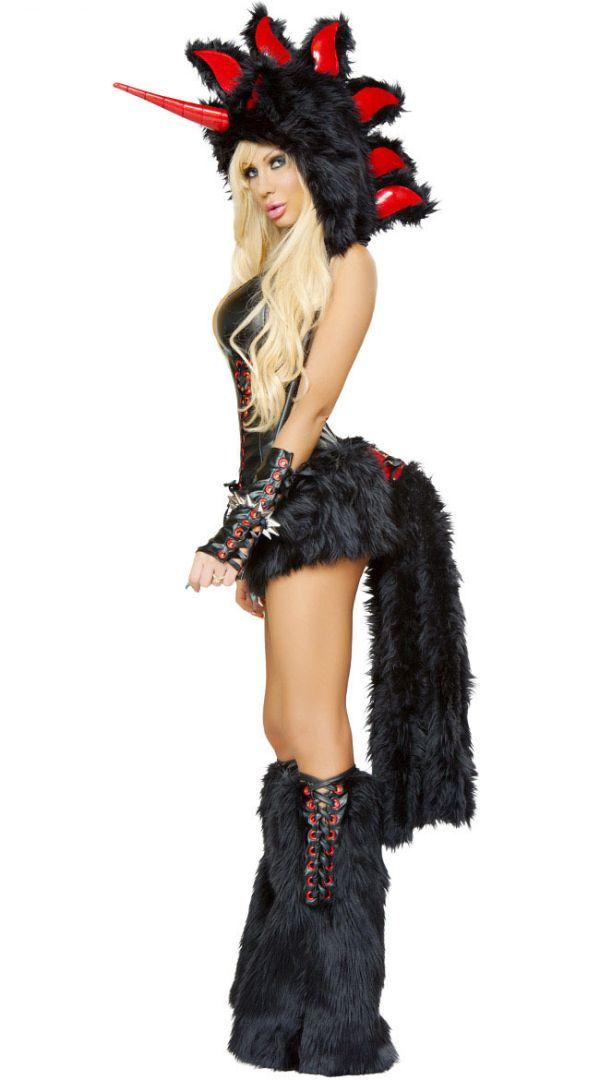 838dd5d1becb Black Unicorn Devil Animal Suit Costume | Cosplay Costumes | Unicorn ...