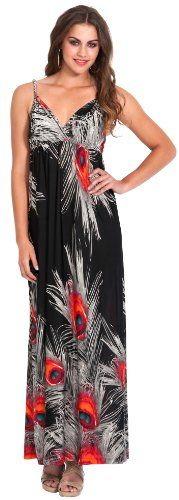 Peacock Feather Print Maxi Dress, Size: 3X, Color: Black PacificPlex,http://www.amazon.com/dp/B00CDBPRI4/ref=cm_sw_r_pi_dp_fG7psb02FBN93AYF