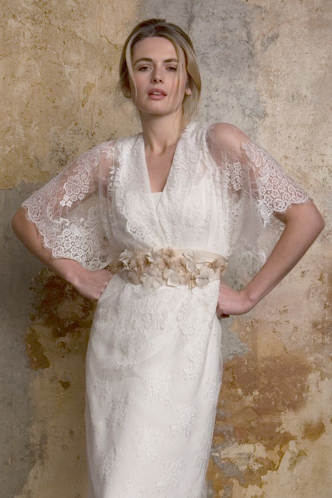 Jasmine | Kimono style, Wedding dress and Vintage inspired wedding ...