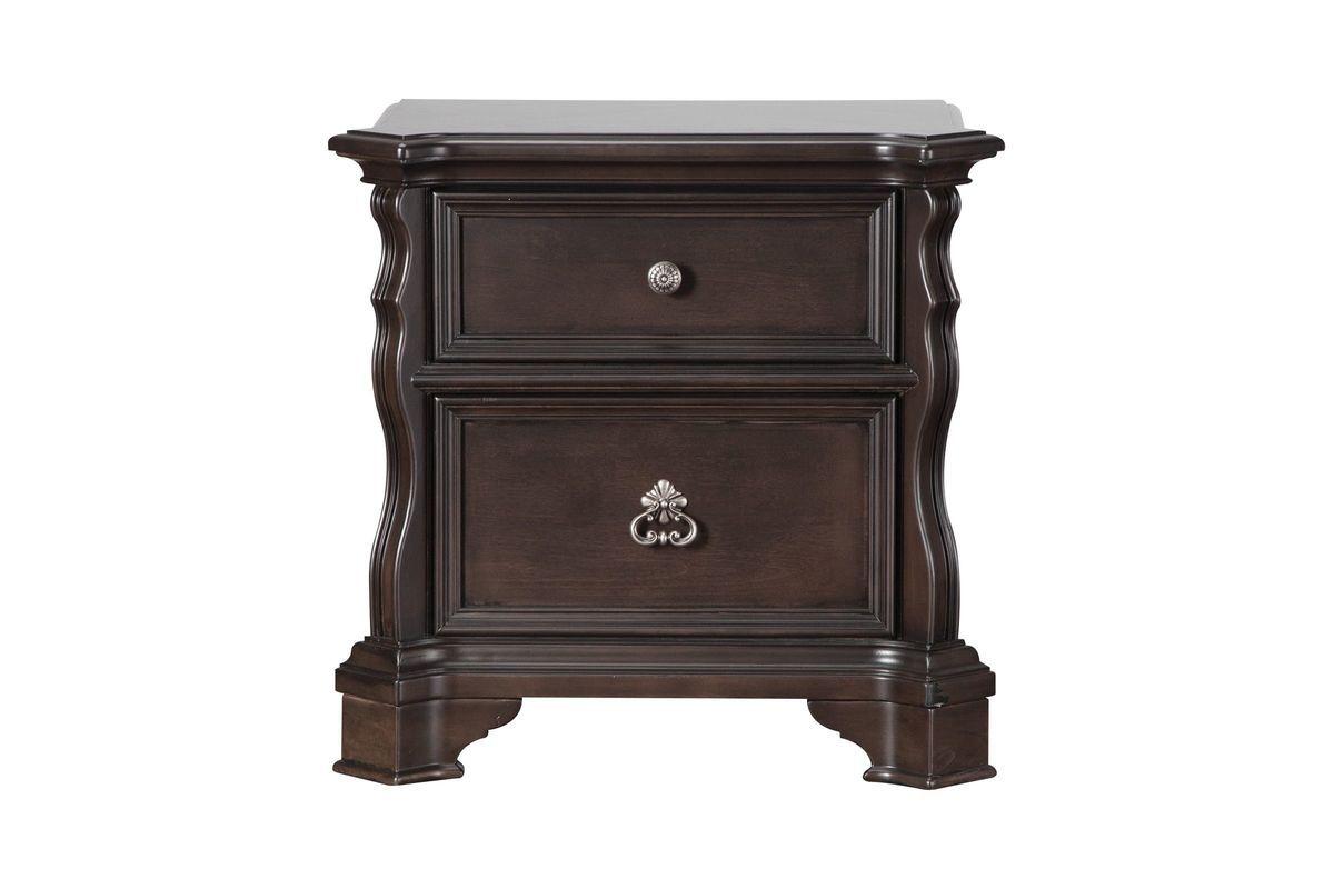 Elvira nightstand nightstand perfect side table white