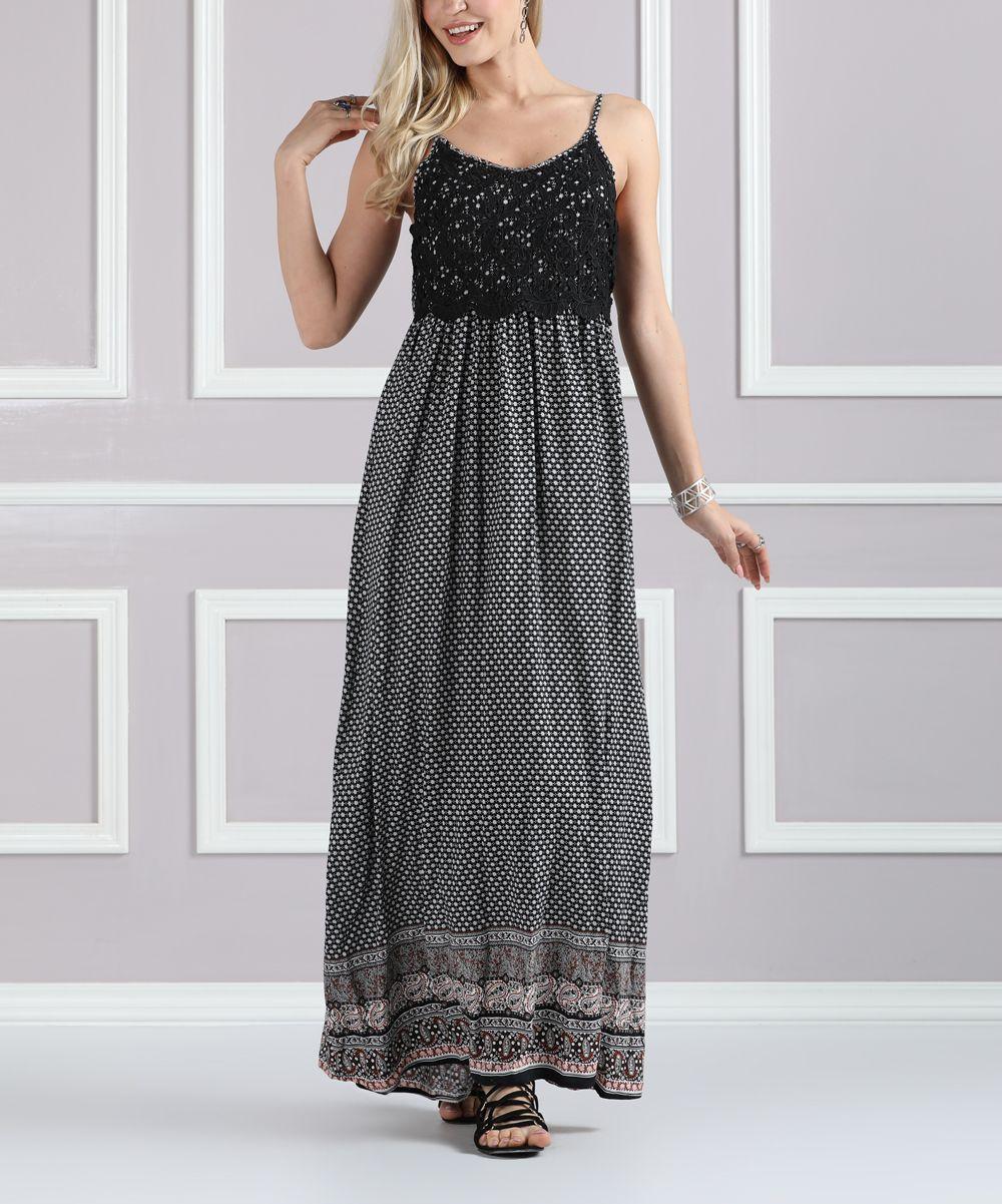Black u rust lacetop maxi dress plus too products pinterest