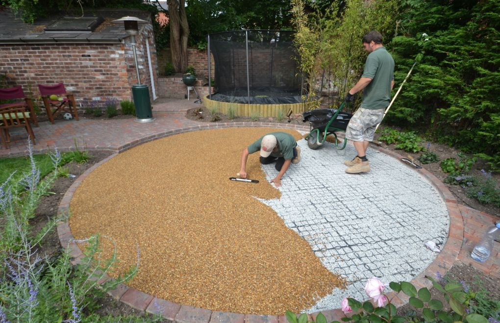 how to build gravel patio | garden | pinterest | gravel patio and ... - Rock Patio Designs