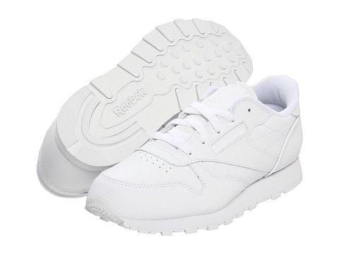 11c27fa3 Reebok Kids Classic Leather (Big Kid) | School Uniform Shoes ...