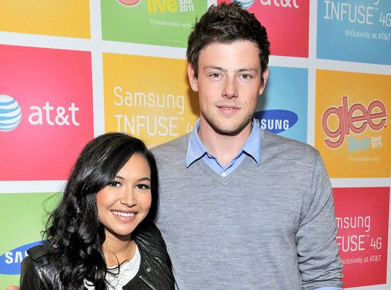 Naya Rivera, Cory Monteith/ Bless your heart Cory dear.