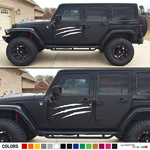 Jeep Wrangler Side Decals And Stickers Jeep Gear Parts Mods Jeep Decals Jeep Wrangler Jeep Gear