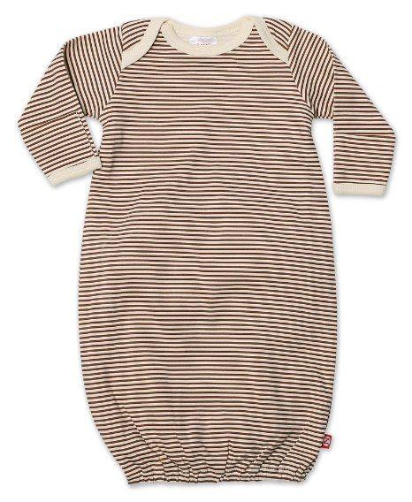 Amazon.com: Zutano Layette Gown, Chocolate, Neutral Baby (Newborn): Clothing